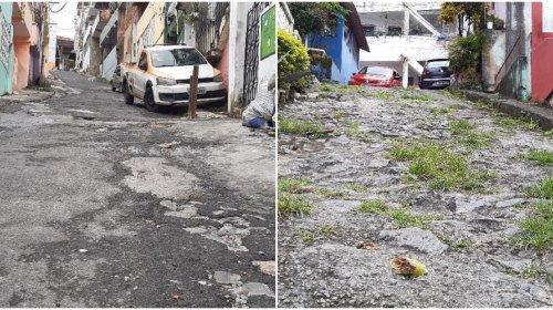 [Moradores pedem melhorias de infraestrutura da Rua 30 de setembro em Pernambués]