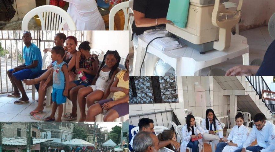 ['Baba de Saia': Ação social leva atendimentos gratuitos ao bairro de Pernambués]