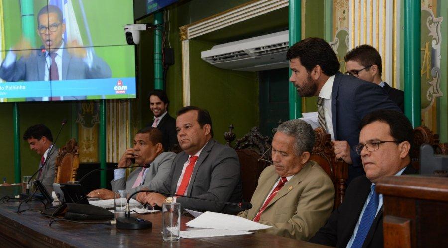 [Câmara Municipal de Salvador aprova empréstimo de R$ 104 milhões da prefeitura junto à Caixa econômica ]