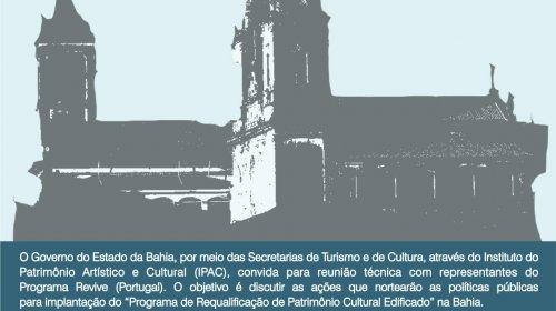 [Governo do Estado discute implantação do Programa de Requalificação de Patrimônio Cultural com...]
