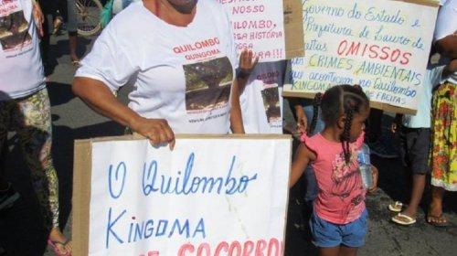 [Movimento Aquilombar lança campanha em defesa do Quilombo Kingoma]