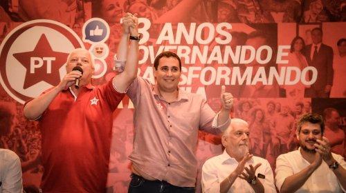 [Toma posse o novo presidente estadual do PT na Bahia]