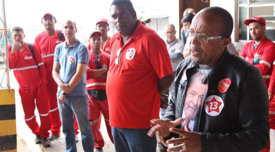 """[""""Para ter unidade, PT precisa ouvir a militância"""", diz Suíca sobre candidatura em Salvador]"""