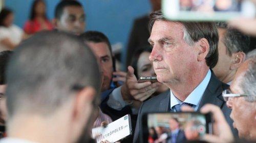 [Brasil está à frente da Argentina para entrar na OCDE, diz Bolsonaro]