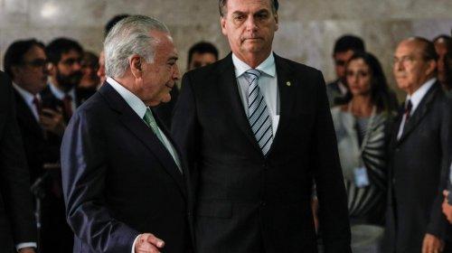 [Bolsonaro vem se aconselhando com ex-presidente Michel Temer, aponta coluna]