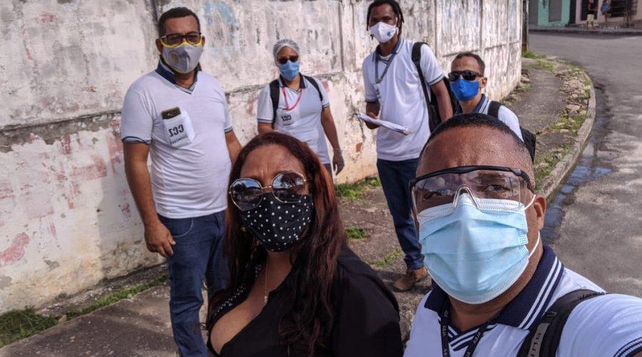 [Comunidade de Mussurunga recebeu Campanha de vacinação contra gripe ]