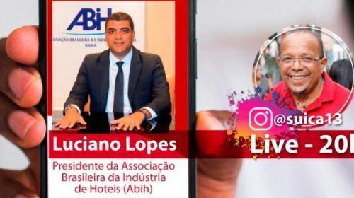"""[""""Sempre estamos fazendo apelo para os governos colaborarem com o nosso segmento"""", diz Luciano...]"""