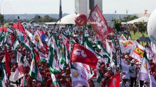 [Centrais sindicais organizam paralisação em dia de luto por mortos por covid-19]