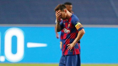 [Messi anuncia que vai ficar no Barcelona]