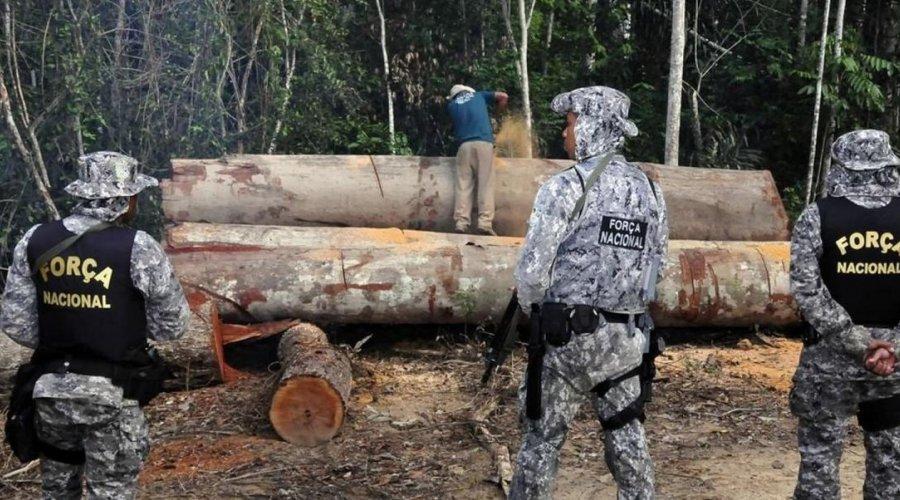 [Governo prorroga uso da Força Nacional na Amazônia]