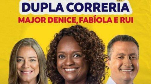 [Major Denice, Rui Costa e Fabíola Mansur participam de mais uma carreata, neste domingo em P...]