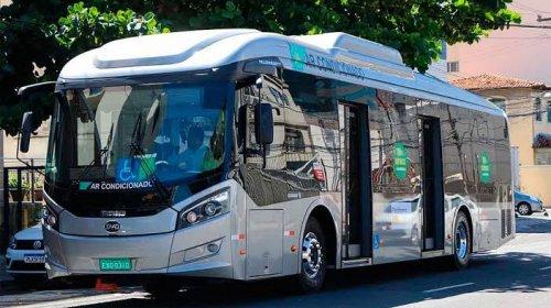 [Ônibus elétricos e a gás começam a circular na próxima semana no Subúrbio de Salvador e RMS]
