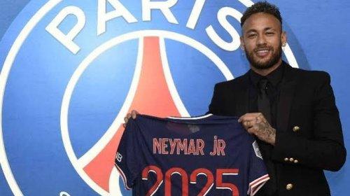[Neymar acerta renovação de contrato com PSG até 2025]