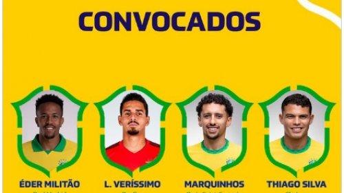 [Eliminatórias: Tite convoca seleção para enfrentar Equador e Paraguai]