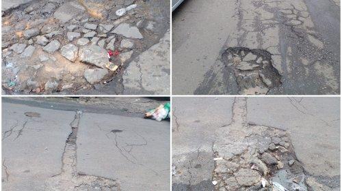 [Moradores reclamam de Avenida cheia de buracos em Pernambués]