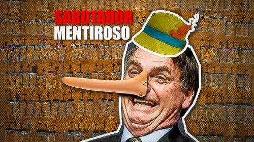 [TCU desmente Bolsonaro em sua tentativa de se eximir das mortes por Covid]