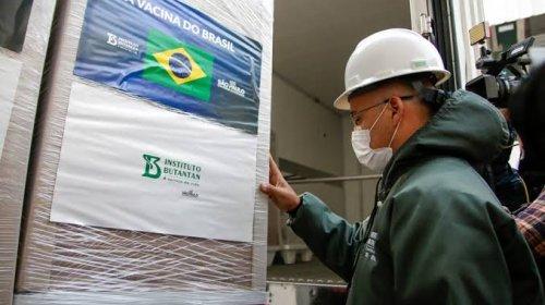 [Butantan entrega mais 1 milhão de doses da CoronaVac ao Ministério da Saúde]