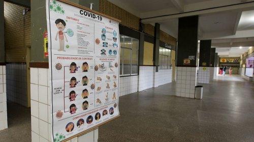 [Governo investe R$ 305 milhões na requalificação das escolas para retomada das aulas presencia...]