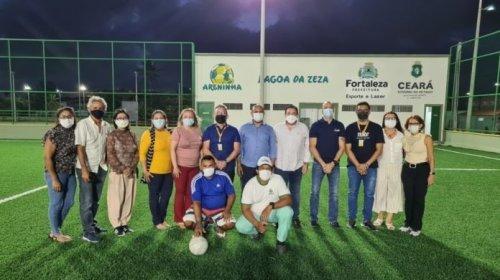 [Salvador adotará modelo de construção de pequenas arenas poliesportivas nas comunidades]
