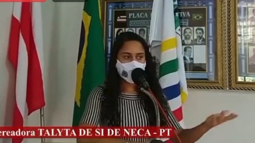[Veja vídeo: vereadora Talyta pede que prefeitura de Várzea da Roça pague auxílio emergencial para famílias de baixa renda]