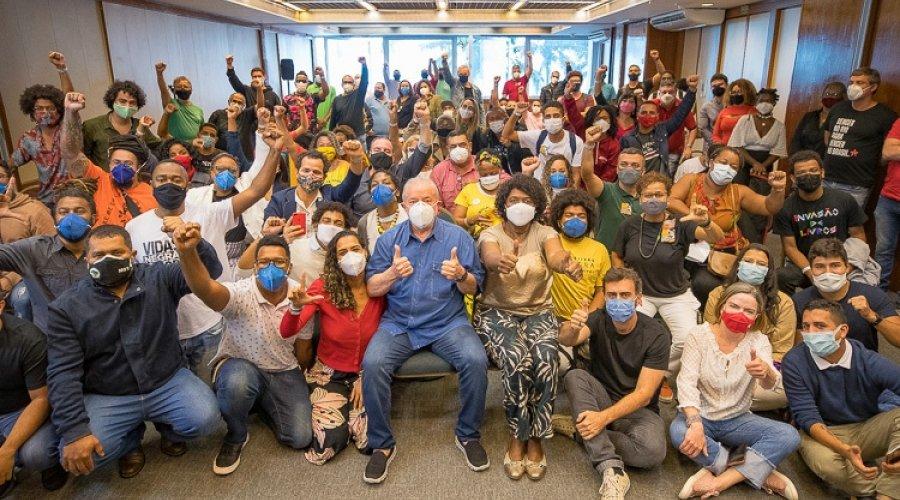 [Veja vídeo: o convite de Lula a trabalhadores e artistas: reconstruir o país]