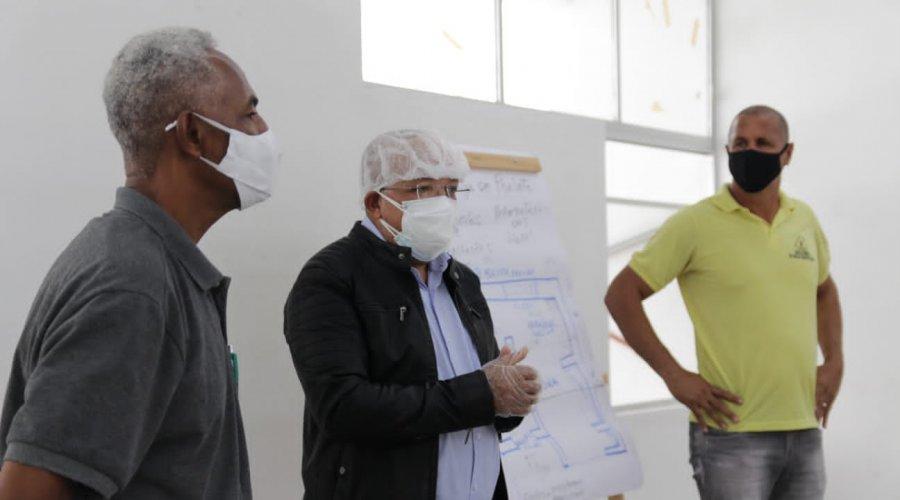 [Centro Comunitário Arnaldo Anselmo ganha cozinha comunitária em Nova Constituinte]