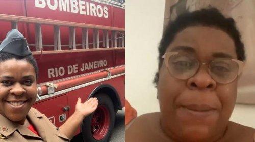[Veja vídeo: Atriz Cacau Protásio chora ao ser vítima de racismo em quartel no Rio]