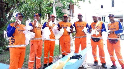 [Covid-19: em vídeo, os trabalhadores de limpeza urbana parabenizam Suíca pela preocupação com...]