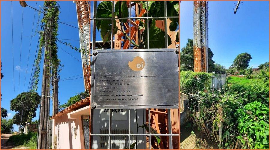 [Veja vídeo: moradora denuncia falta de manutenção em torre de antena de operadoras de telefonia]
