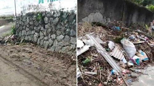 [Veja Vídeo: morador de Itacaranha agradece pela limpeza imediata da rua Daniel Ferreira]