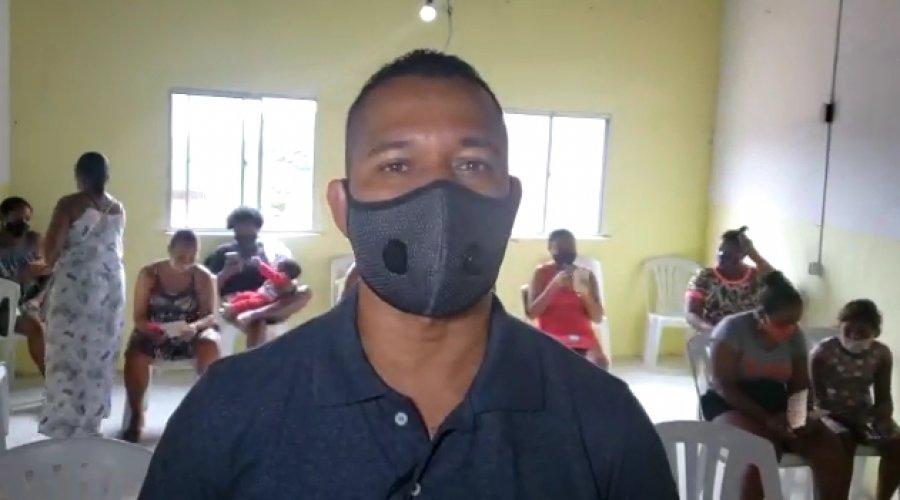 [União Santa Cruz em parceria com Sindilimp promove ação de saúde para os moradores do Nordeste de Amaralina]