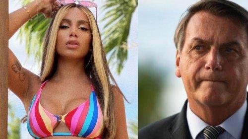[Veja vídeo: Anitta critica governo Bolsonaro e diz que presidente está causando